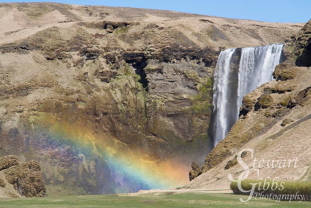 Skogafoss Waterfall, Iceland, April 2014(2).jpg