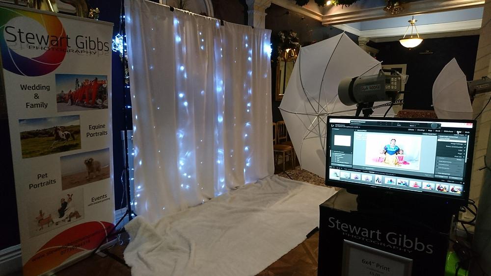 Stewart Gibbs Event Photography Stand