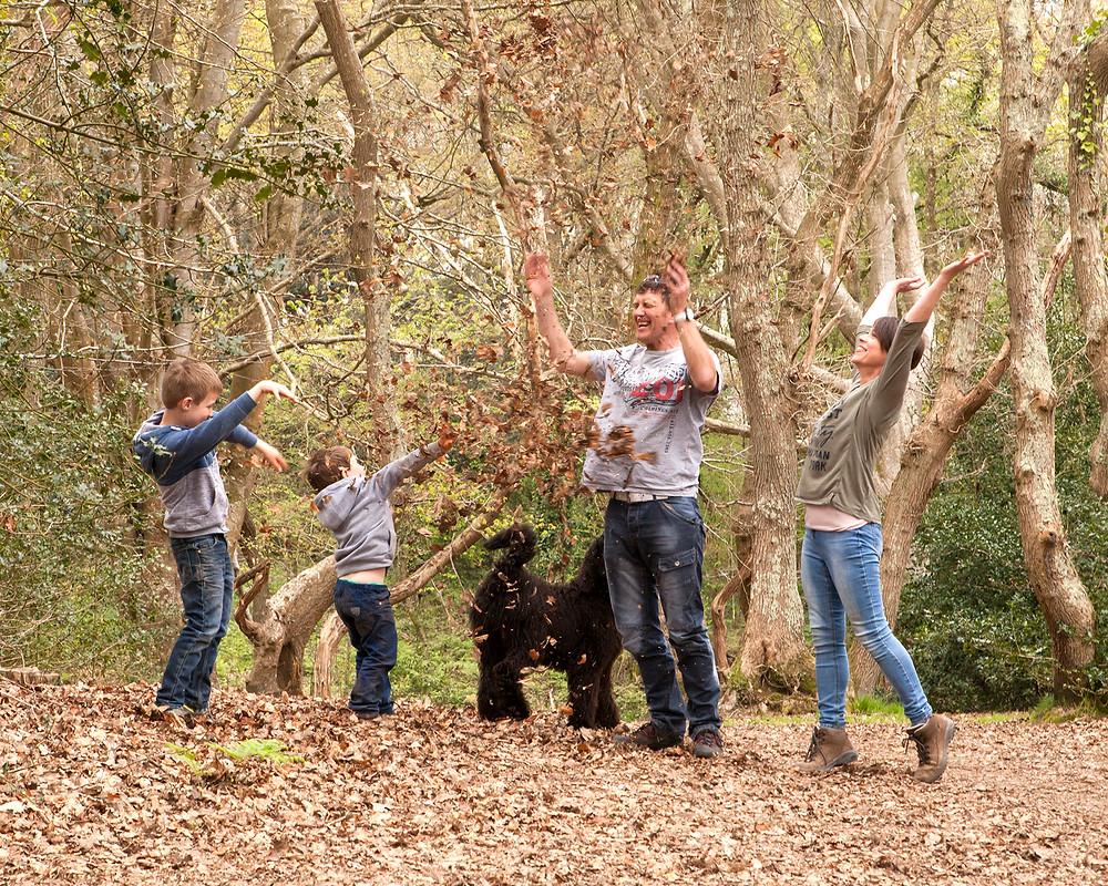 Family Autumn Mini Photo Shoot
