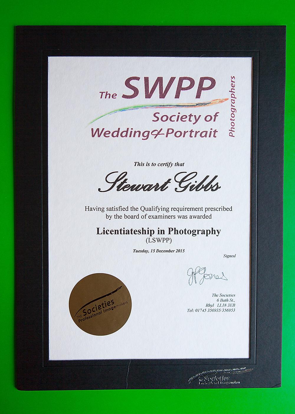 LSWPP Certificate