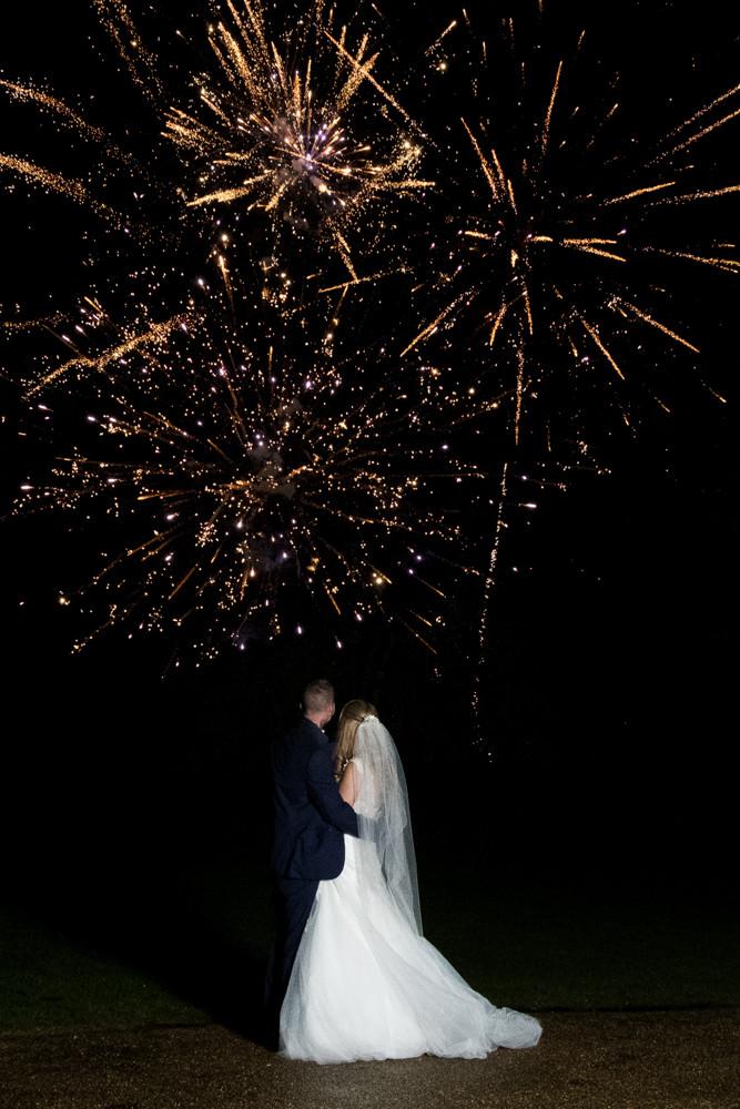 Wedding Fireworks, Telford Shropshire