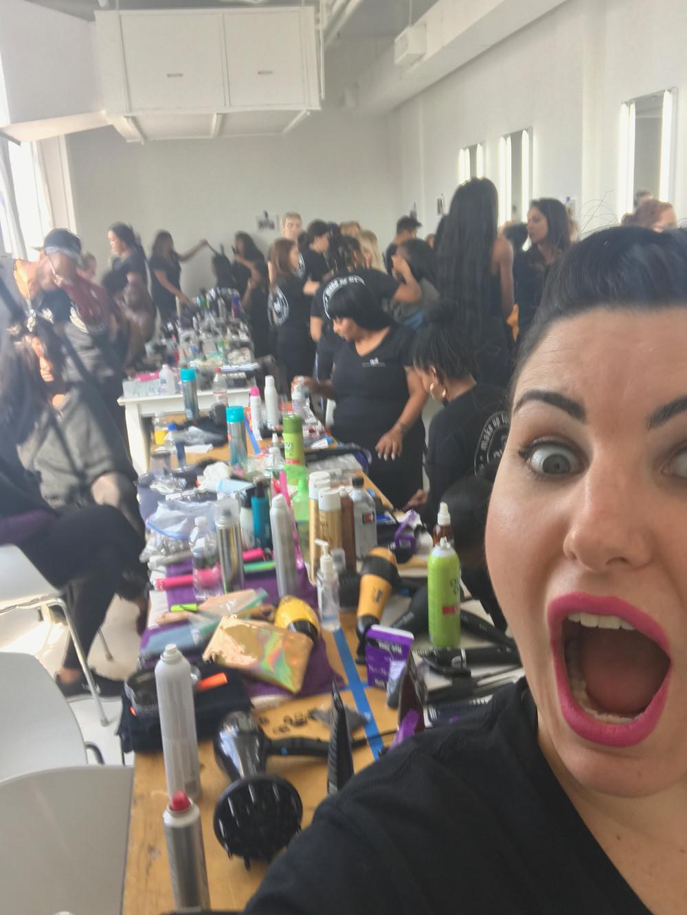 Backstage Madness!!