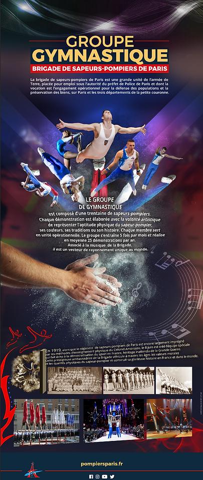 Flyer Groupe de Gymnastique des Sapeurs-