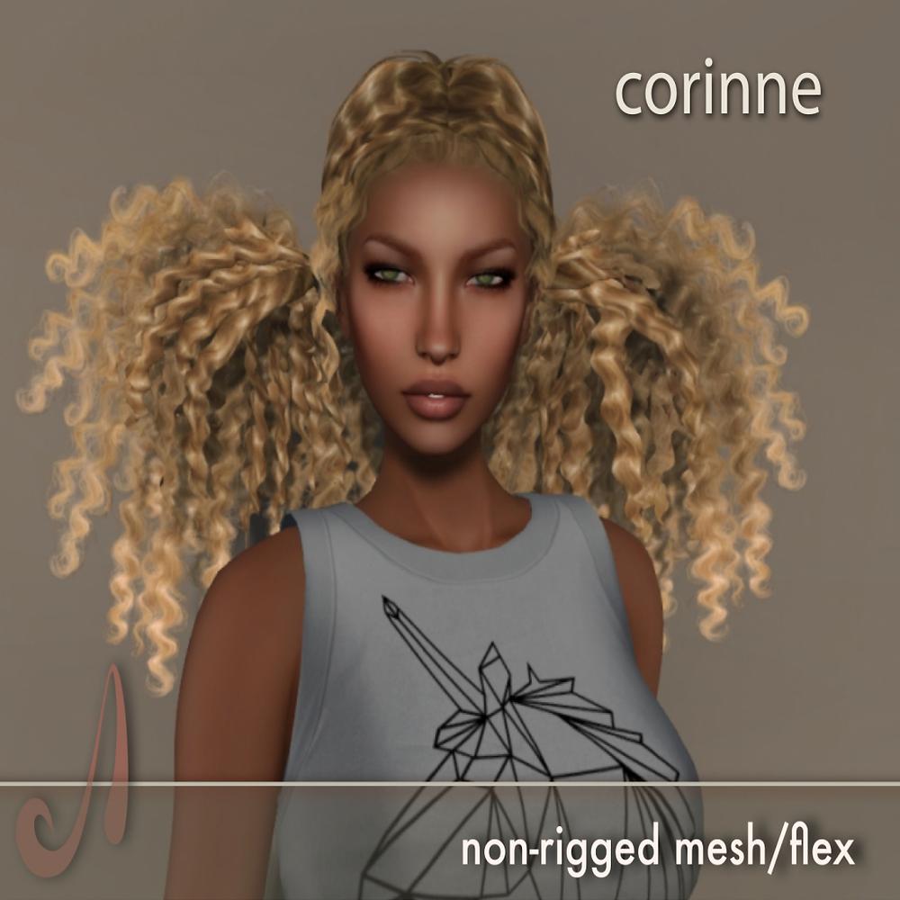 Lovely flexi/ mesh afro curls from the Hair Fair!