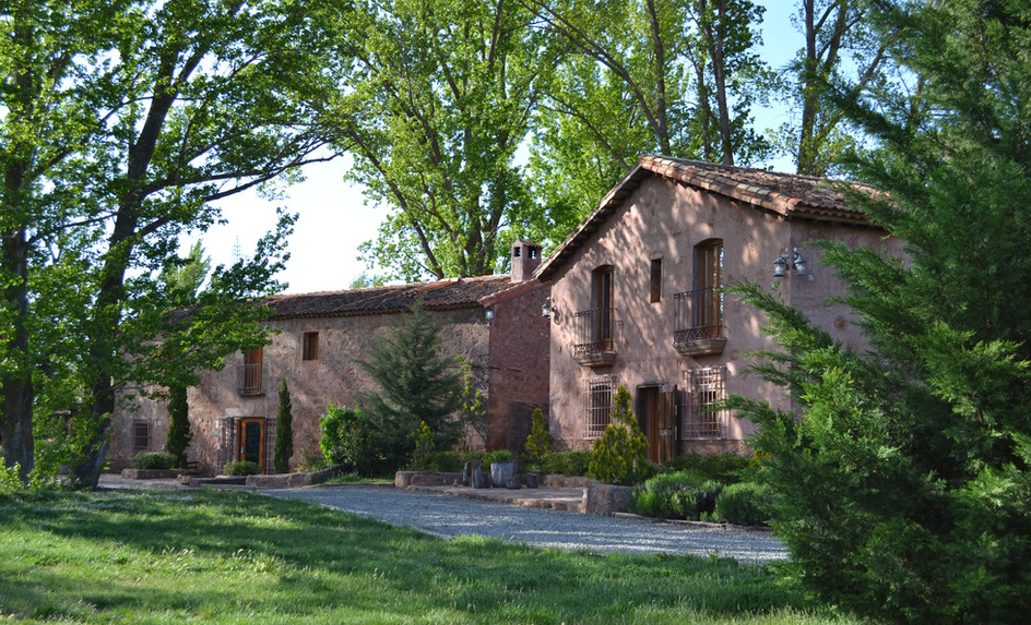 Vista de las dos casas