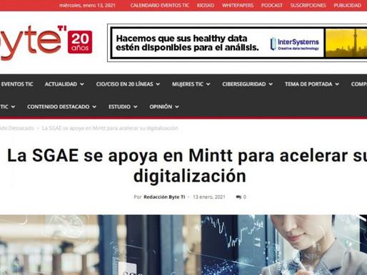 Con la SGAE en su proceso de digitalización