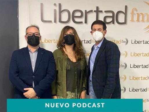 Participación de Mariano López en radio Libertad FM