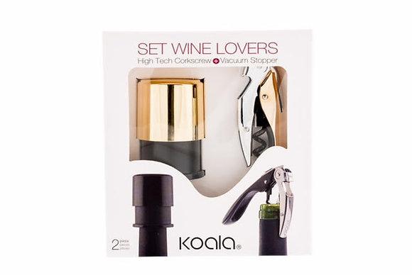 Set Wine Lovers Gold