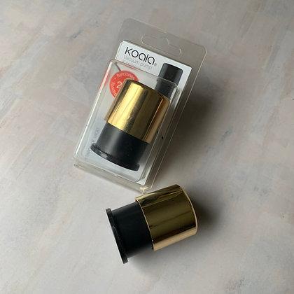 Tapón de vino y bomba de vacío gold