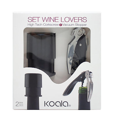 Set Wine Lovers Black
