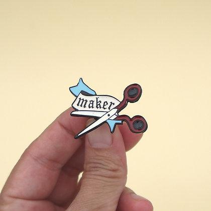 Broche pin Maker