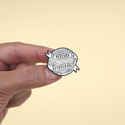 Broche pin Mercurio Retrógrado