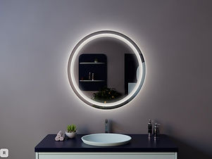 зеркало круглый