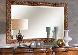 Зеркало в багетной раме на заказ