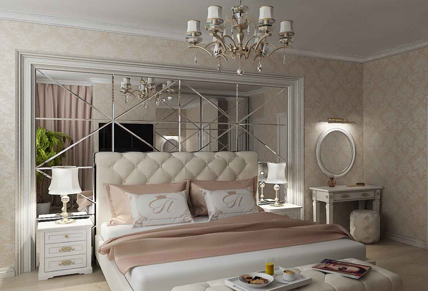 Зеркал в спалню под размер