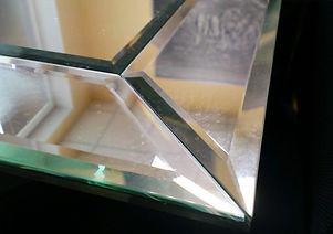 зеркальный панно стена