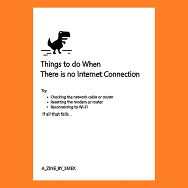 Things to do When There is no Internet Connection