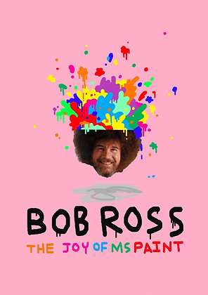 Bob Ross: The Joy of MS Paint