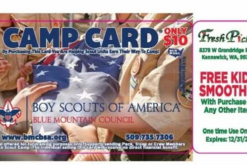 North Region Camp Card