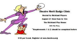 Theatre Merit Badge Clinic