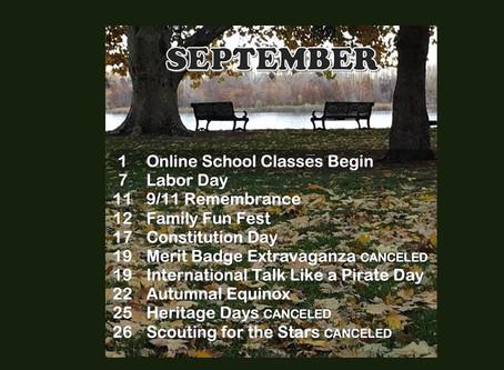 Fall into September