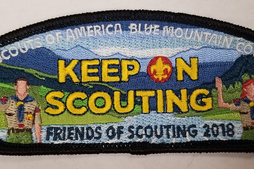 Keep on Scouting FOS Recognition 2018