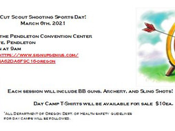 Shooting Sports Day for Oregon Scouts