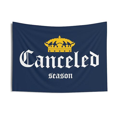 Corona Canceled Season Navy Flag