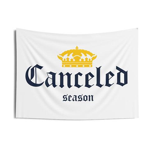 Corona Canceled Season White Flag