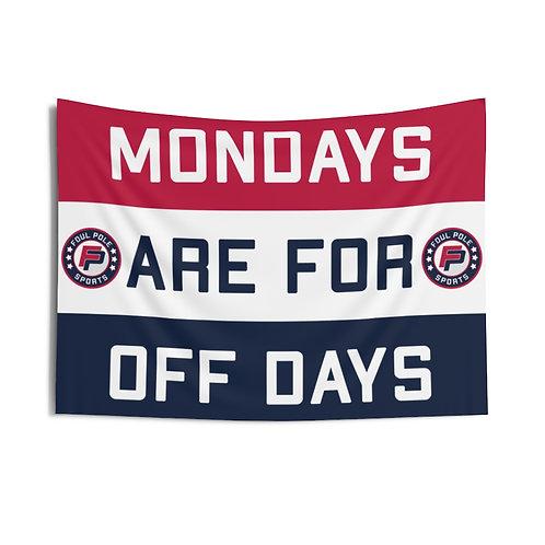 Mondays Are For Off Days USA Flag