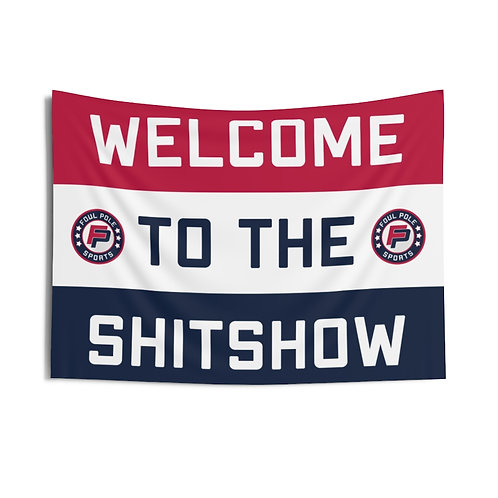 Welcome To The Shitshow USA Flag
