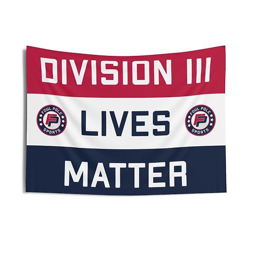 Division 3 Lives Matter USA Flag