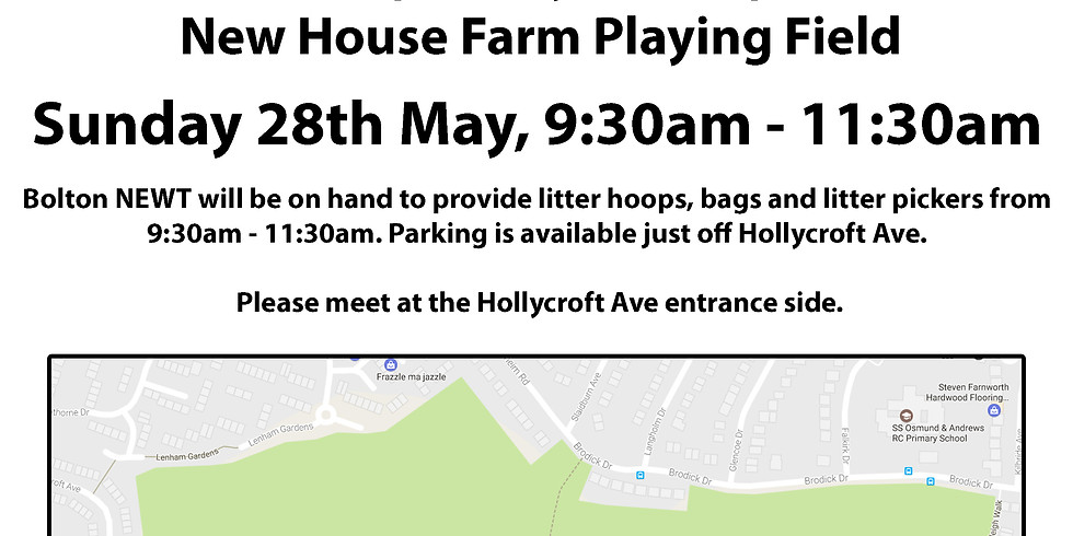 Fly-tipping Removal - New House Farm Playing Field