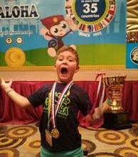 Un niño español de 8 años se proclama campeón del mundo de cálculo