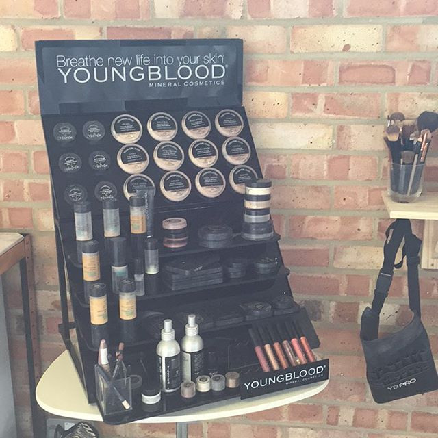 Official stockist of Youngblood mineral Cosmetics