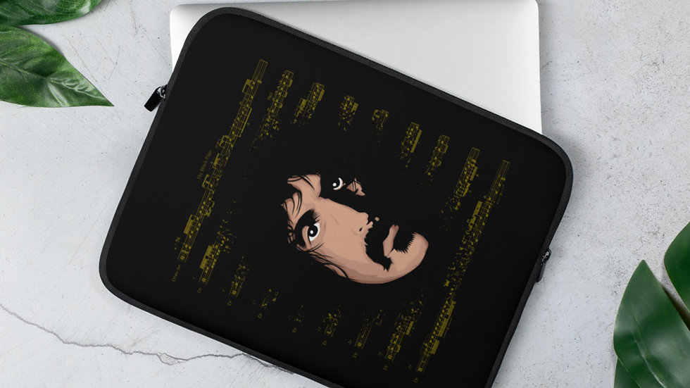 The Black Page - Laptop Sleeve
