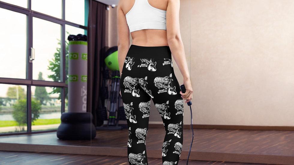 Deep Groove Yoga Leggings With Pockets!