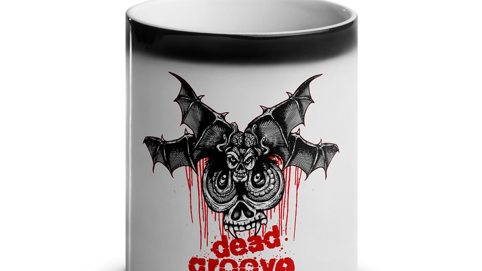 Death Moth - Glossy Magic Mug
