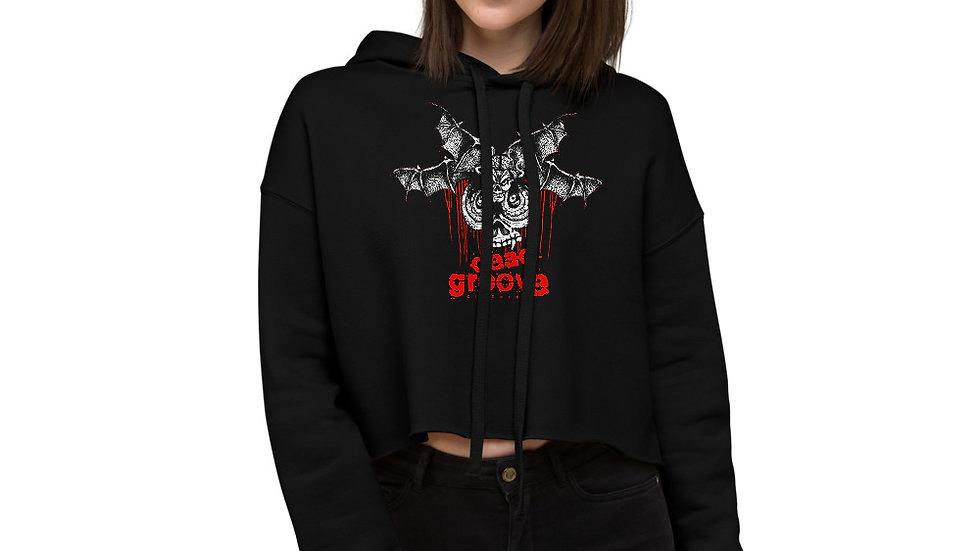 Death Moth - Crop Hoodie