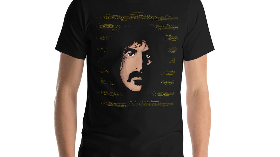 The Black Page FZ T-Shirt