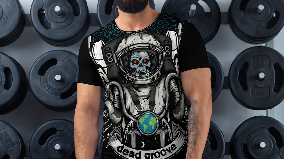 DGC MARS MISSION All-Over Print Men's Athletic T-shirt