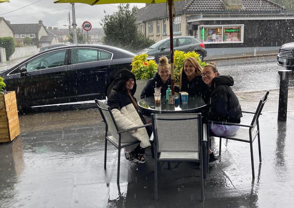 Rainy Rialto day