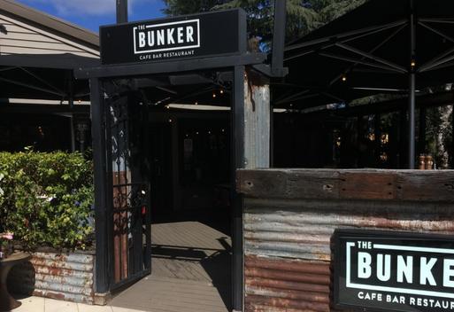 The Bunker Cafe, Bar, Restaurant
