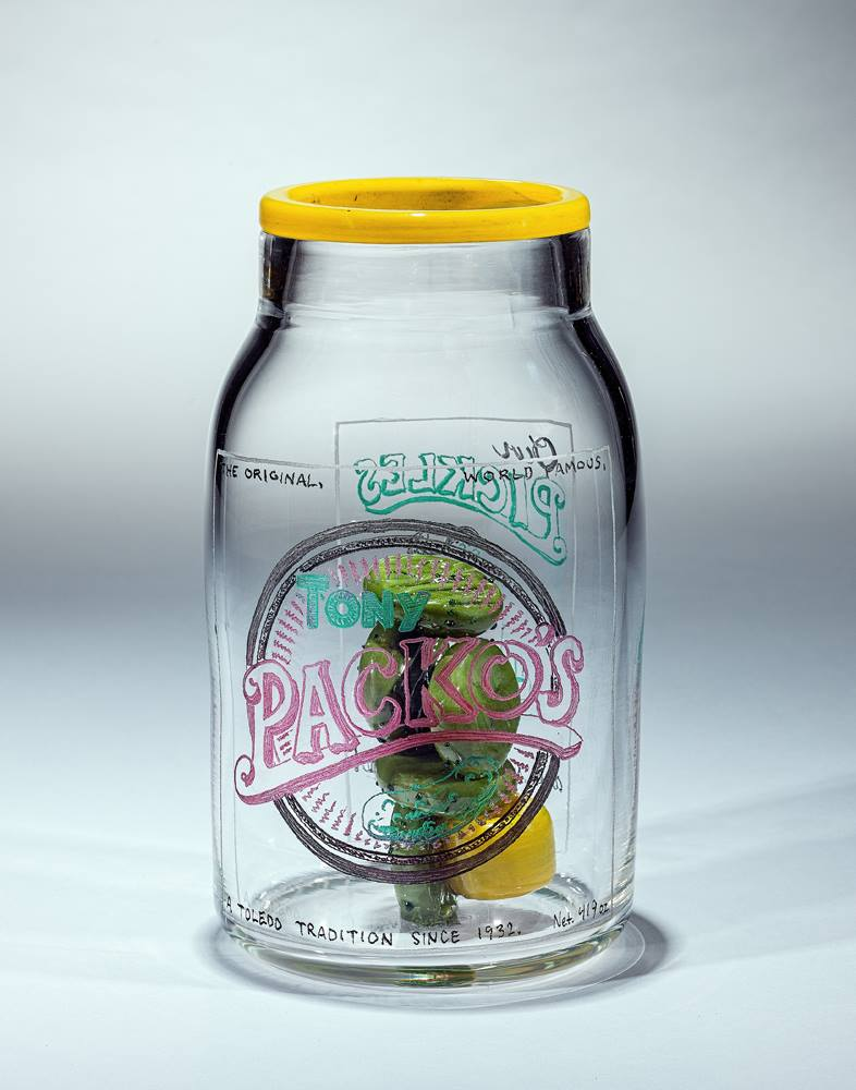 Hot Shots Pickle Jar
