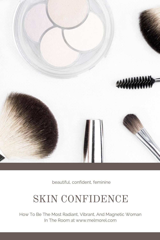 make up brushes - eye shadows - skin confidence - face