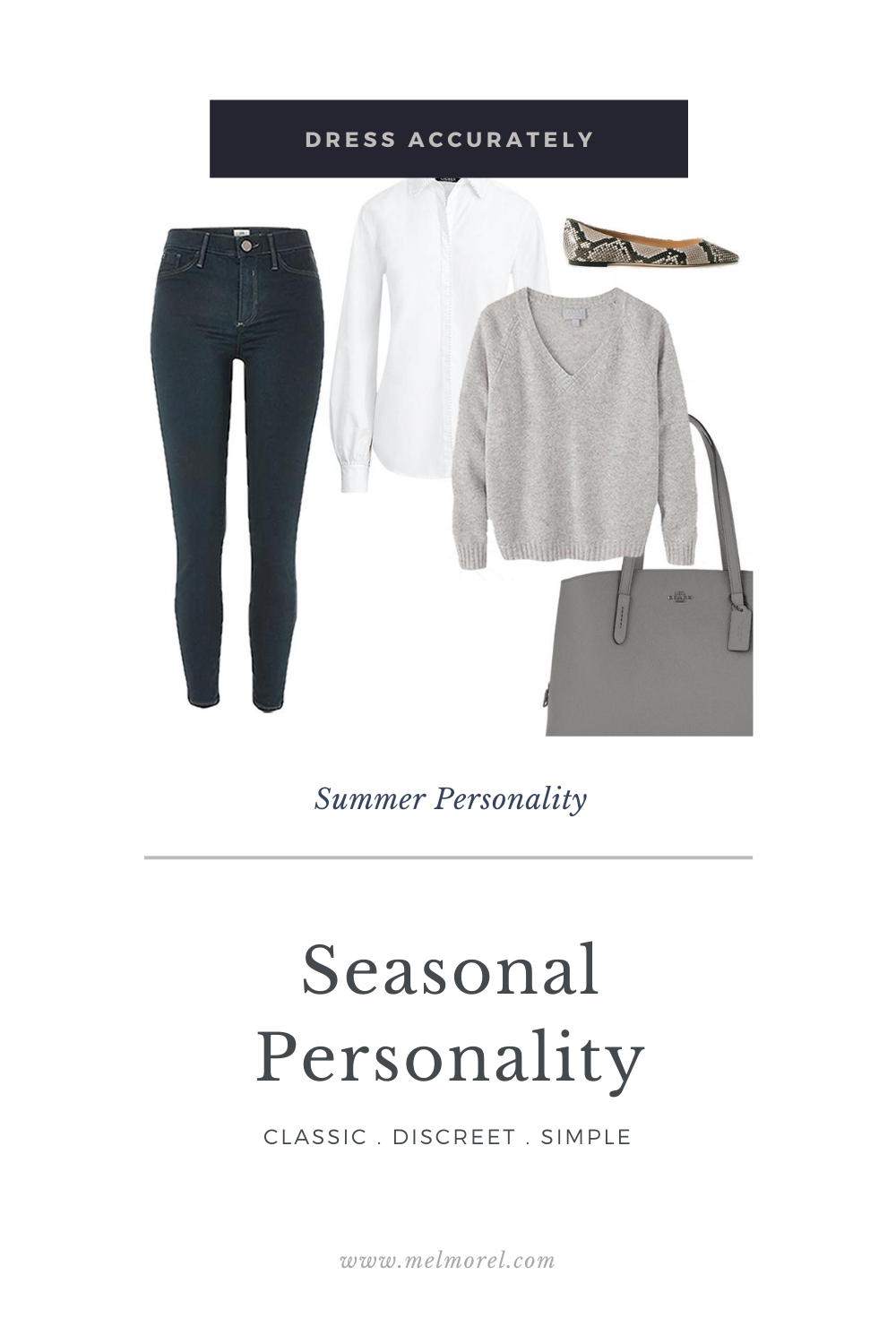 Summer Personality - grey skinny jeans - white shirt - grey oversized jumper - grey tote bag - snake effect leather flat shoes