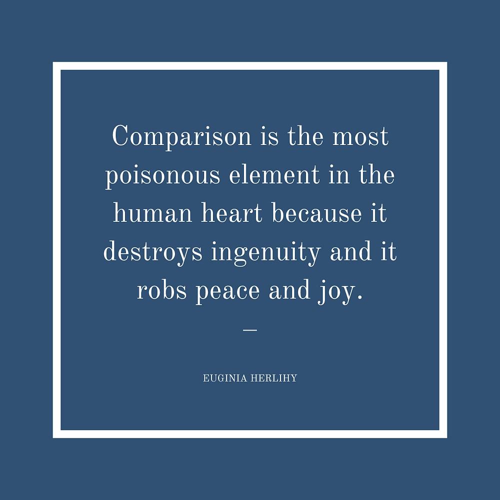 Euginia Herlihy quote comparison