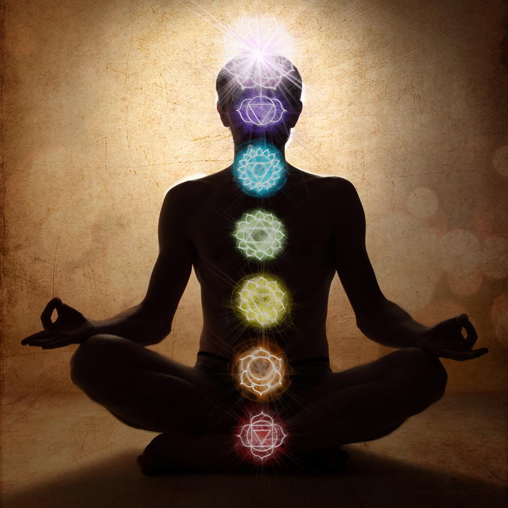 seven chakras image