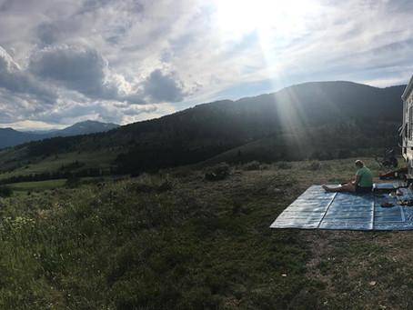 A Week of Boondocking near Yellowstone and Grand Tetons