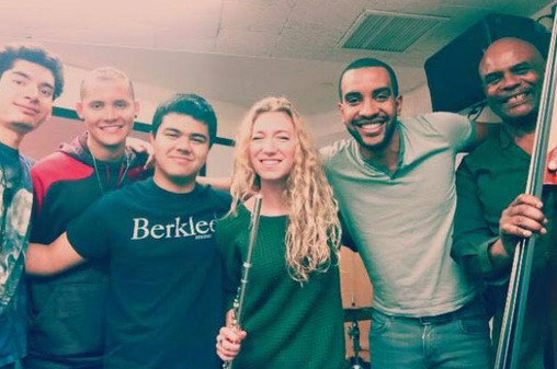 Concert with Herman Hampton's Jazz Ensemble at Berklee